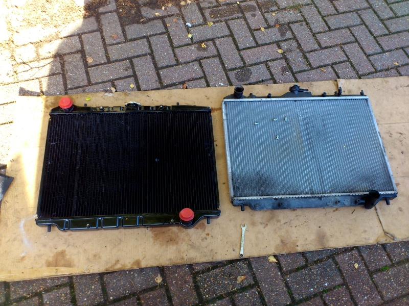 How Much Do You Fill An Old Car Radiator